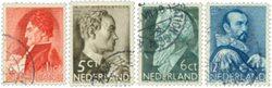 Holland 1935 - NVPH 274-277 - Stemplet