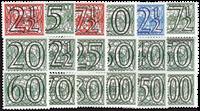 Nederland 1940 - Nr. 356-373 - Ongebruikt