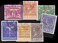 Holland 1934-1938 - NVPH D9-D15 - Stemplet