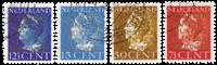 Holland 1940 - NVPH D16-D19 - Stemplet