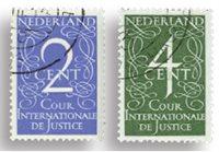 Nederland Cour de Justice 1950 - Nr. D25-D26 - Gebruikt