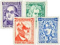 Holland 1928 - NVPH 220-223 - Ubrugt