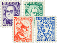 Netherlands 1928 - NVPH 220-223 - Unused