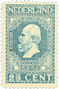 Holland 1913 - NVPH 96 - Ubrugt
