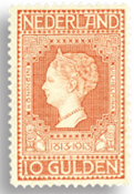 Holland 1913 - NVPH 101 - Ubrugt