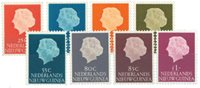 Nederlands Nieuw Guinea - 1954 - Nr. 30-37 - Postfris