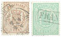 Holland 1869-1871 - NVPH 13-15 - Stemplet