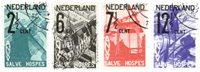 Pays-Bas - NVPH 244-247 - Oblitéré