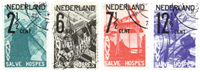 Netherlands 1932 - NVPH 244-247 - Cancelled