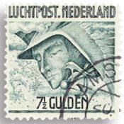 Holland - Luftpost (LP8, stemplet)