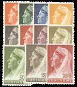 Nederland - Koningin Wilhelmina 1936 Sluier (nr. 167-178, postfris)
