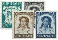 Nederland - Emancipatiezegels 1938 (nr. 183-186, postfris)