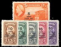 Nederland - Steunfonds 1945 (nr. 214-219, postfris)