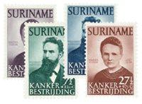 Nederland - Curie 1950 (nr. 280-283 postfris)
