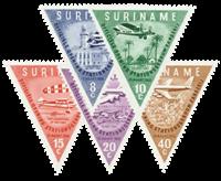 Nederland - Zanderij 1960 (nr. 340-344, postfris)