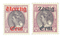 Nederland 1919 - Nr. 102-103 - Ongebruikt