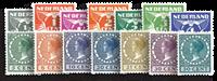 Holland 1930 - NVPH R57-R70 - Ubrugt