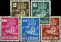 Nederland Kerken in oorlogstijd 1950 - Nr. 556-560 - Gebruikt
