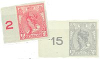 Holland 1923 - NVPH 82-83 - Ubrugt