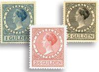 Pays-Bas 1926-27 - NVPH 163-65 - Neuf avec charnière