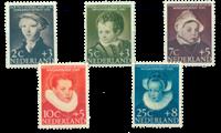 Nederland 1956 - Nr. 683-687 - Postfris
