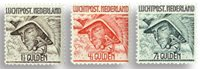 Holland 1929 - NVPH LP6-LP8 - Postfrisk