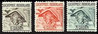 Holland 1929 - NVPH LP6-LP8 - Postfrisk