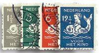 Holland 1929 - NVPH R82-R85 - Stemplet