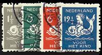 Pays-Bas - NVPH R82-R85 - Oblitéré