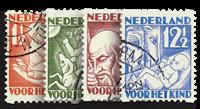 Holland 1930 - NVPH R86-R89 - Stemplet