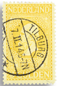 Holland 1913 - NVPH 100 - Stemplet