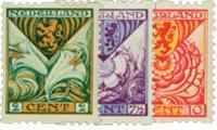 Pays-Bas 1925 - NVPH R71-R73 - Neuf