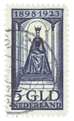 Holland 1923 - NVPH 131 - Stemplet