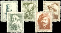 Holland 1956 - NVPH 671-675 - Stemplet