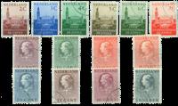 Holland 1951-1953 - NVPH D27-D40 - Stemplet
