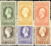 Holland 1913 - NVPH 90-95 - Ubrugt