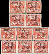 Holland - NVPH 356a-356d - Ubrugt