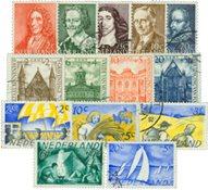 Nederland 1947+48+49 - Gebruikt
