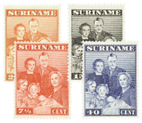 Nederland - Koninklijke familie 1943 (nr. 206-209,postfris)
