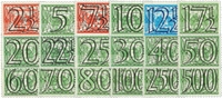 Nederland - Nr. 356-373 - Postfris