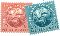 Holland 1949 - NVPH 542-543 - Postfrisk