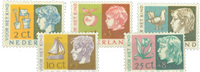Nederland 1953 - Nr. 612-616 - Postfris