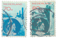 Holland 1931-1933 - NVPH 236-237 - Stemplet