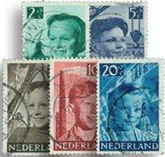Holland 1951 - NVPH 573-577 - Stemplet