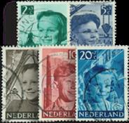Nederland 1951 - Nr. 573-577 - Gebruikt