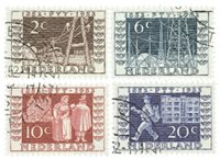 Nederland 1952 - Nr. 592-595 - Gebruikt