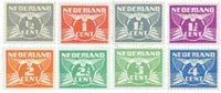 Holland 1926-1935 - NVPH 169-176 - Ubrugt