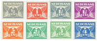 Netherlands 1926-1935 - NVPH 169-176 - Unused