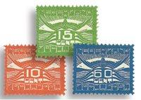 Holland - NVPH LP1-LP3 - Ubrugt