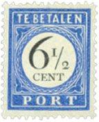 Holland - NVPH P20 - Ubrugt